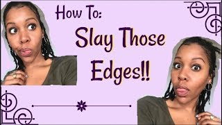 How I Slay My Edges! 4a,4b,4c, Everybody!