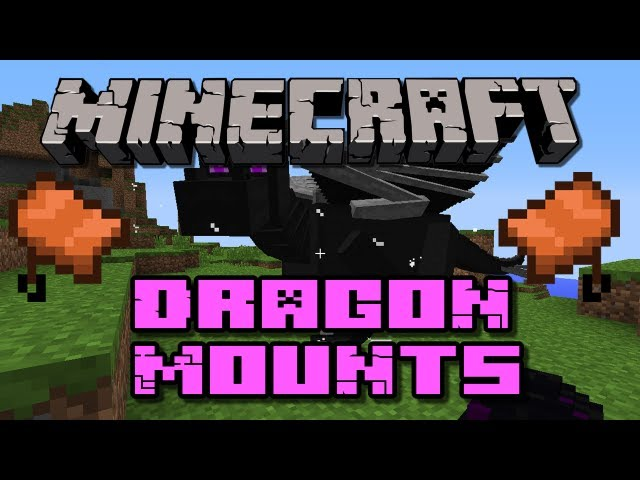 Minecraft Mods - Dragon Mounts v0.8