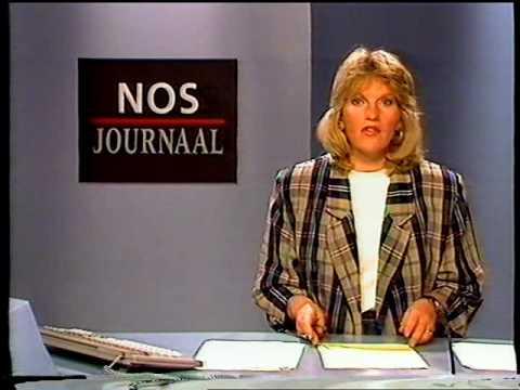 890304 - Ned.2: STER, NOS-journaal, TROS, closedown (4 maart 1989)
