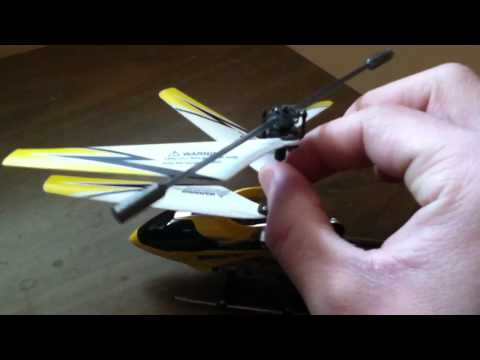 Syma S107G RC Helicopter Balance Problem