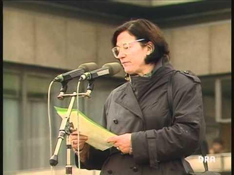 Christa Wolf, Rede auf dem Alexanderplatz am 4. November 1989