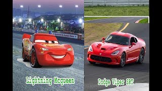 Cars 3 Characters In Real Life - All Characters 2018
