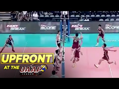 UAAP UPFRONT: UAAP 78 Men's Volleyball Exciting Moments
