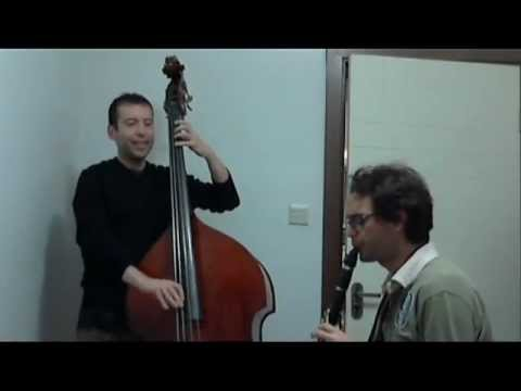 Bass and Clarinet - Warm Up blues