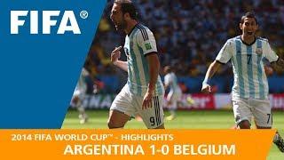 ARGENTINA v BELGIUM (1:0) - 2014 FIFA World Cup™