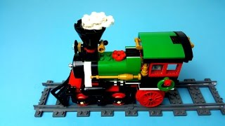 Lego Winter Holiday Train 10254 - Speed Build