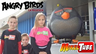 Première de ANGRY BIRDS La Película en España Sony Pictures