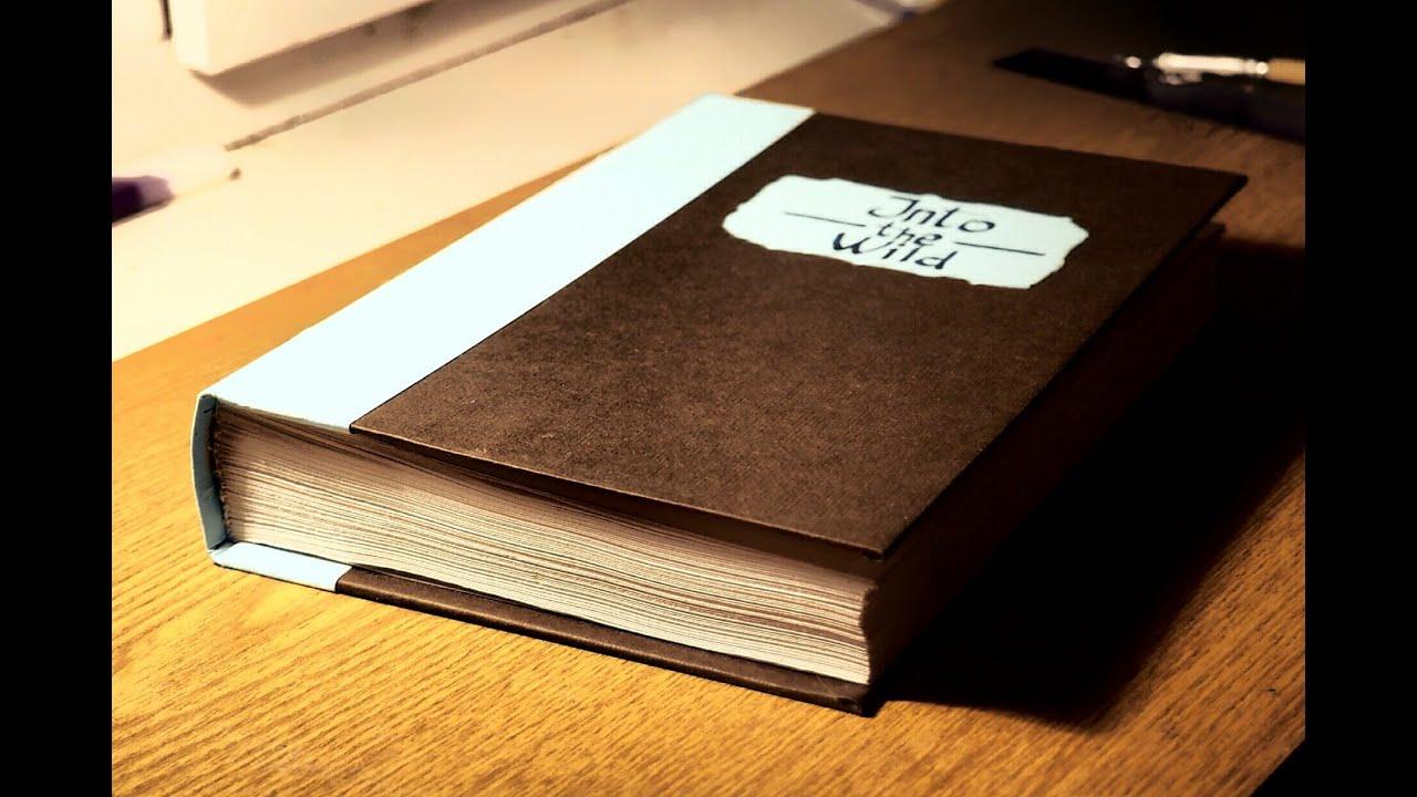 Как сделать книгу в плотной обложке