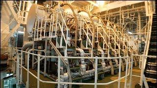 Ship's Engine Start Up