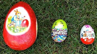 Nursery Rhymes Songs for Children- Learn Sizes with Chocolate Surprise Eggs for Baby- Funny Video