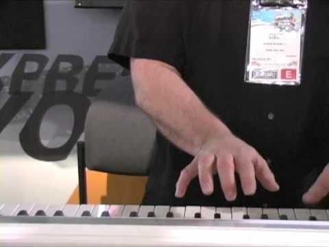 Korg SP-170 Stage Piano Winter NAMM 2010 Demo