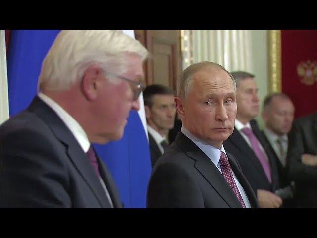 Steinmeier bei Putin Mit dem Besuch endet eine Sprachlosigkeit auf hГchster Staatsebene