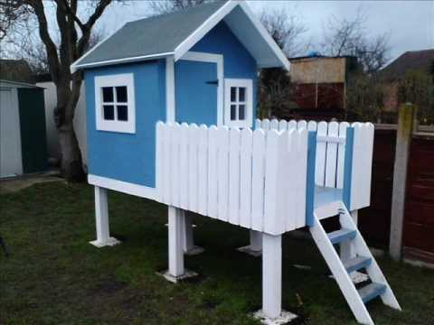 Build your own wendy house for next to nothing youtube for How to make a playhouse out of wood