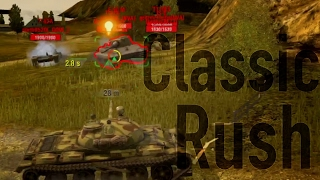 STB-1 + T-62A Toon On Old Mines [WoT Blitz] In 4K