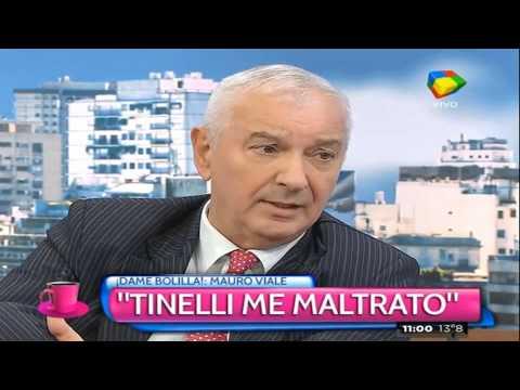 Mauro Viale contó por primera vez su historia de desencuentro y enojo con Marcelo Tinelli