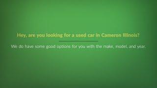 Cameron Illinois No Money Down Car Dealerships