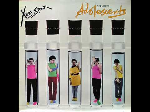 X Ray Spex - I Cant Do Anything