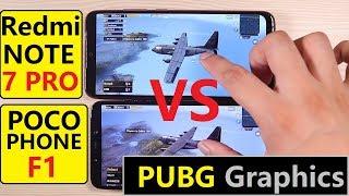 Redmi Note 7 Pro Vs Pocophone F1 - PUBG Test, Speed Test, Gaming Test, OverallTest - comparison Test