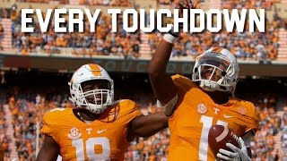 Every Touchdown of the 2016-17 Tennessee Volunteers Football Season ᴴᴰ