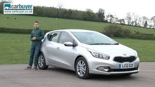 Kia Cee'd hatchback review - CarBuyer