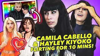 Download Lagu CAMILA CABELLO AND HAYLEY KIYOKO FLIRTING FOR 10 MINUTES Gratis STAFABAND
