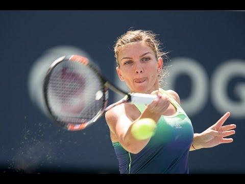 2015 Rogers Cup Semifinal | Simona Halep vs Sara Errani | WTA Highlights
