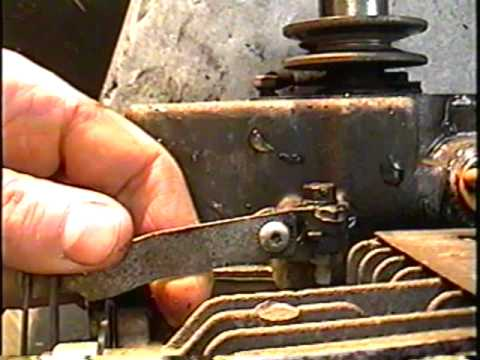 HOW TO ADJUST SNOWBLOWER ENGINE SPEED GOVERNOR
