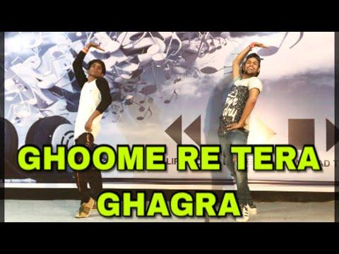 Ghoome Re Tera Ghagra - Anjali Raghav & Raju Punjabi | AD Group Of Dance