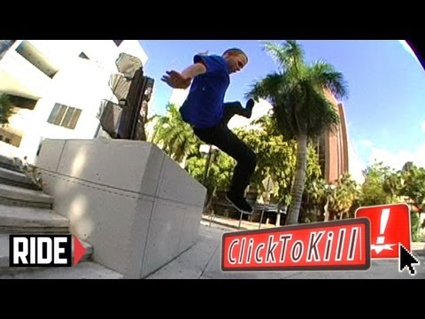 Frontside Lipslide To Faceplant - Click To Kill