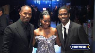 Backstage At Naacp Image Awards With Chris Rock, Jamie Foxx, Wyclef Jean, John Legend More