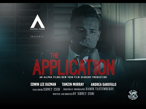 WATCH Dr Sid's Self-directed Short Film 'The Application'