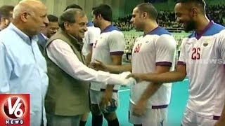 Union Minister Birender Singh Launches Asian Club League Handball Championship | Hyderabad