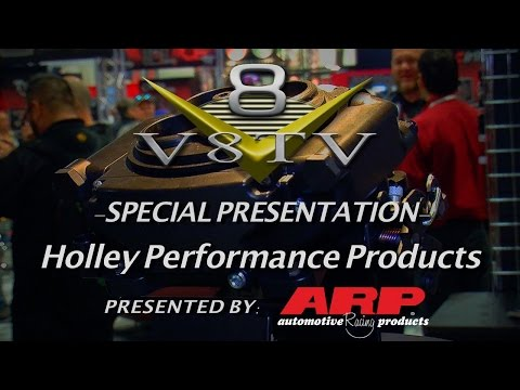 Holley Terminator Stealth and Sniper EFI Systems SEMA 2015 Video V8TV