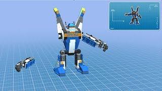 Robot Phá Đá Xây Nhà Trên Đảo Hoang- Game Vui Cho Bé