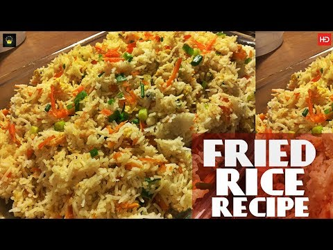 #FRIED RICE RECIPE PAKISTANI | Vegetable Fried Rice Recipe In Urdu | How To Make Fried Rice