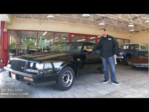 1987 Buick Grand National  for sale Flemings with test drive. driving sounds. and walk through video