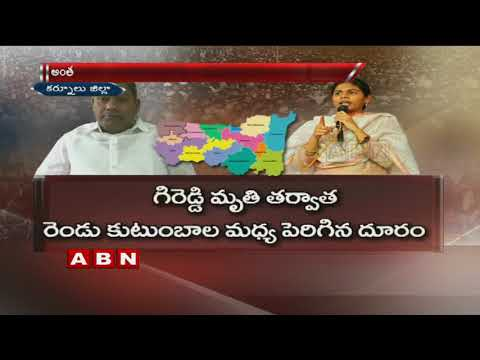 Clashes between Akhila Priya and AV Subba Reddy Heats Up Politics in Kurnool
