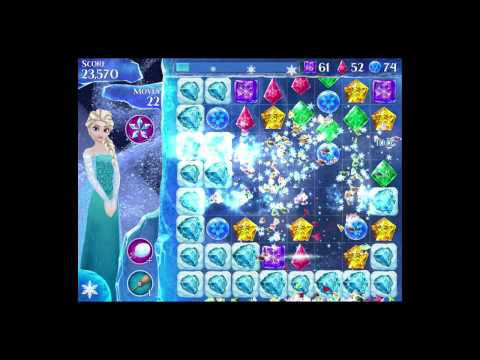 Disney Frozen Free Fall Level 72