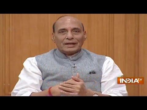 Home Minister Rajnath Singh in Aap Ki Adalat 2016 (Full Episode)