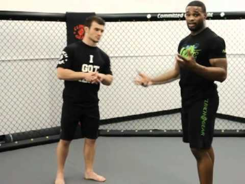 Clinch Gear MMA Technique of the Week - Tyron Woodley Fronk Kick Defense Image 1