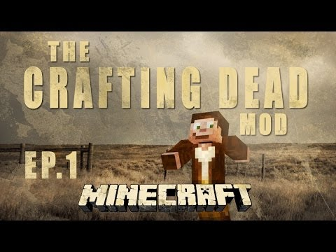 Minecraft- The Crafting Dead Hard-Core let's play Ep.1