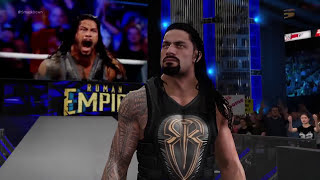 ROMAN REIGNS V/S UNDERTAKER IN WWE SMACKDOWN