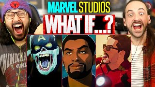 Marvel's WHAT IF...? | TRAILER REACTION!! (First Look | Disney+)