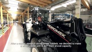 Are you ready to listen the design story of HİDROMEK articulated Wheel Loader from our designers?