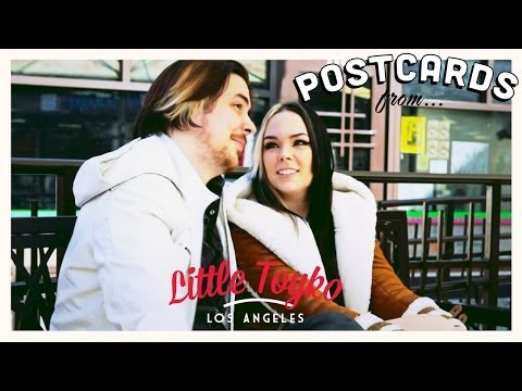 Egoraptor and Mortem3r in Little Tokyo. Los Angeles!   Postcards From...
