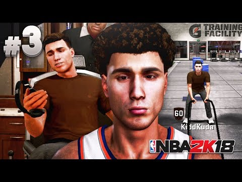 The LOST BALL BROTHER #3 - NBA 2K18 MyCareer - MY FIRST HAIRCUT! EXPLORING THE NEIGHBORHOOD