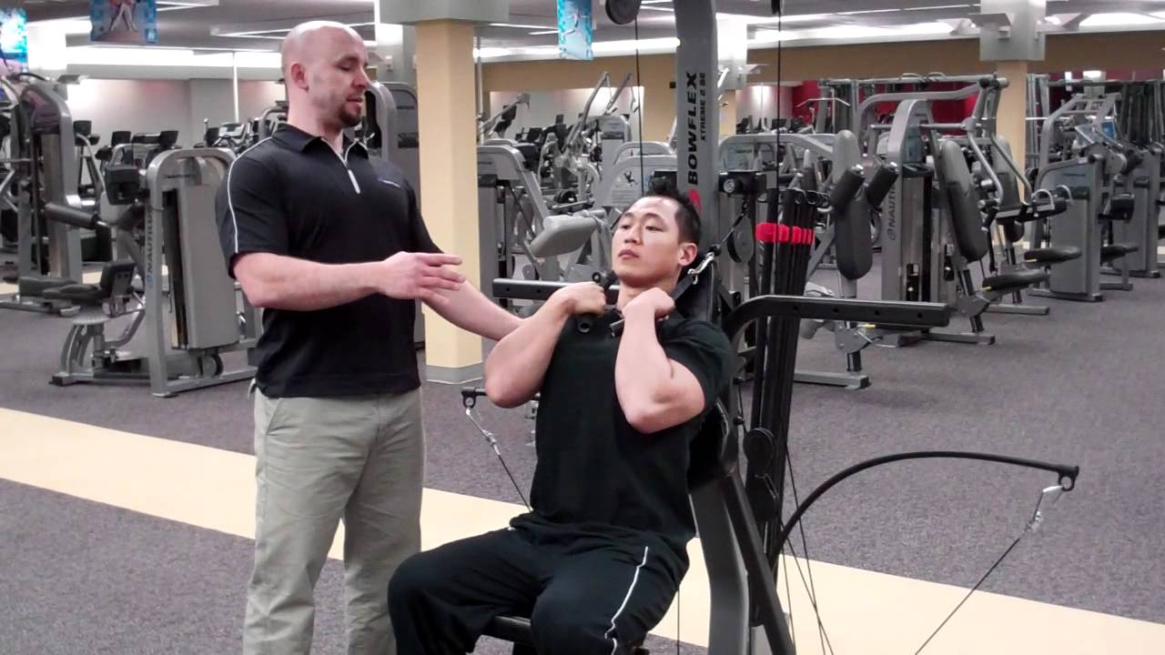 Correct Technique for an Abdominal Crunch with a Bowflex
