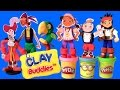 Clay Buddies Jake and the NeverLand Pirates Play-Doh Piratas Captain Hook Activity Book Pack