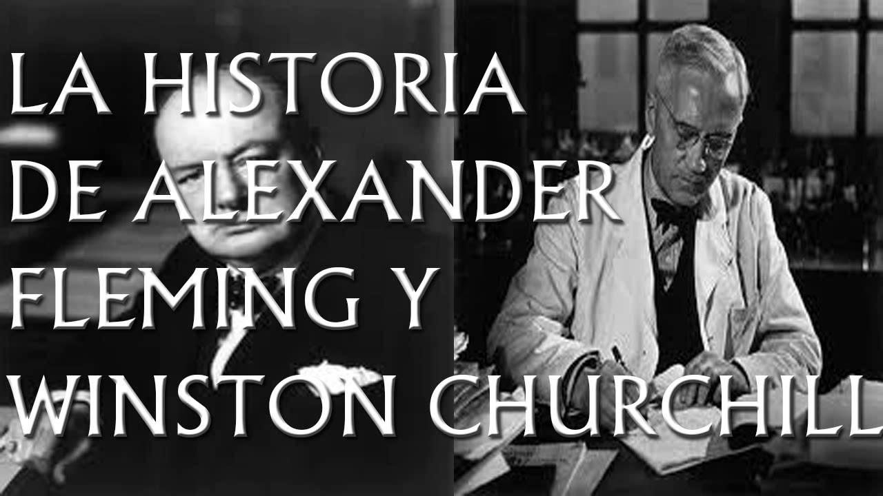 Winston Churchill and alexander fleming
