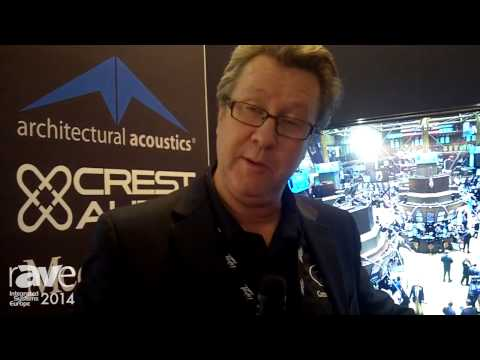 ISE 2014: Peavey Commerical Audio Talks About Claro for DSP Matrix Solutions